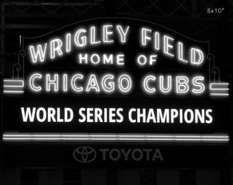 Chicago Cubs Wrigley Field 1945 World Series Digital Painting