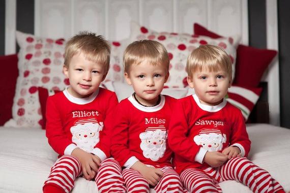 6cfc8a3fb Christmas Pajamas-Children Christmas Pajamas-Personalized