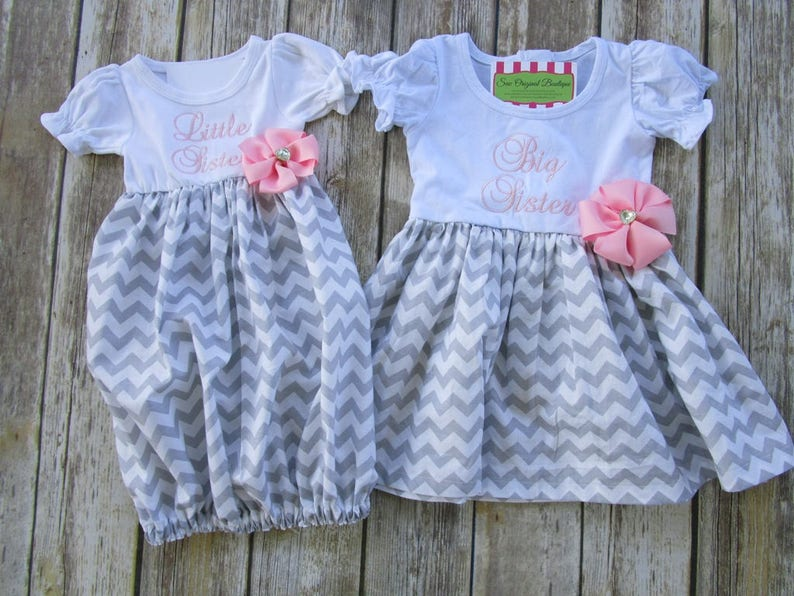 123c1458cd6cb Big Sister Little Sister Outfits-Matching Sister Outfits-Big | Etsy