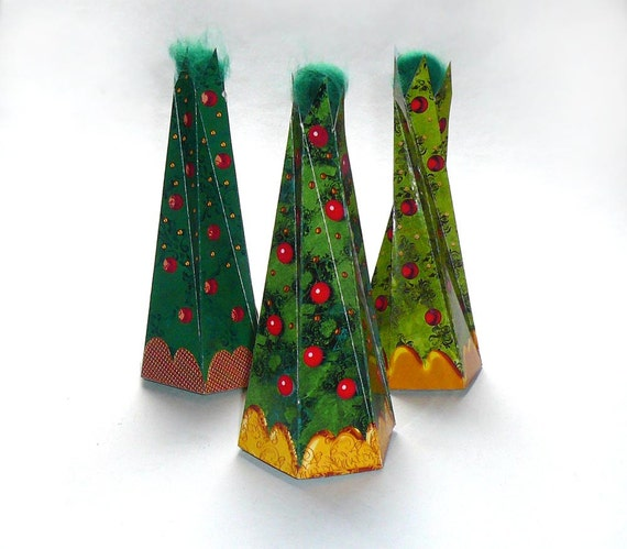 Items Similar To Christmas Tree DIY Printable Gift Box