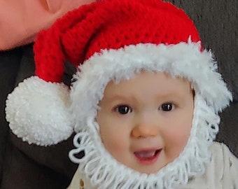 Santa Baby Beard Hat 016ec4a4d62