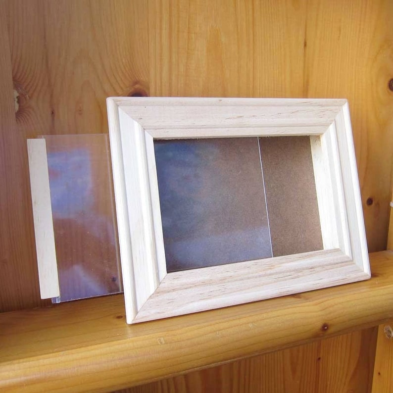 DIY Wood Art Frame, kids party gift, kids craft supplies, Frame for  Quilling, Custom frame, wholesale wood craft, Shine Kids Crafts
