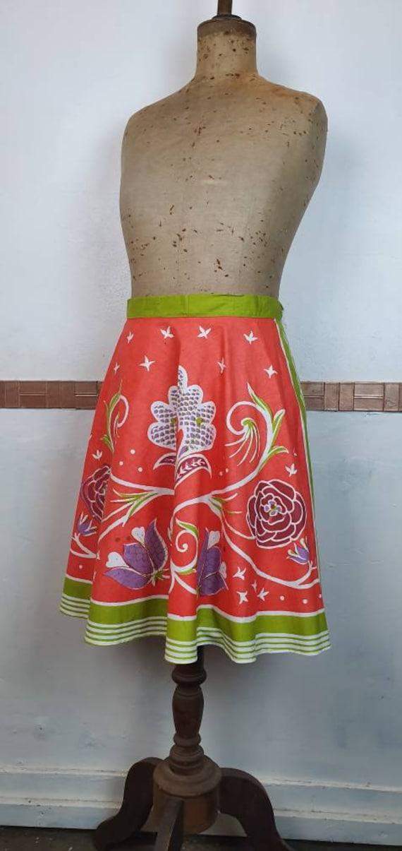 Original 1950s apron half pinny