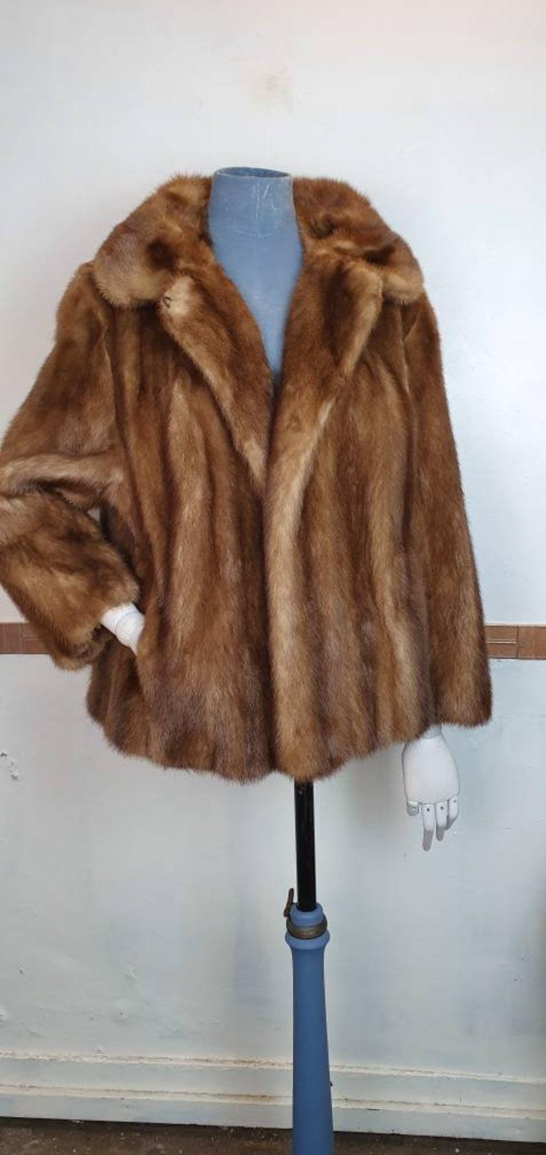 Vintage golden Mink Coat