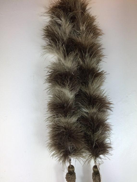 Vintage original 1920s 1930s deco ostrich feather