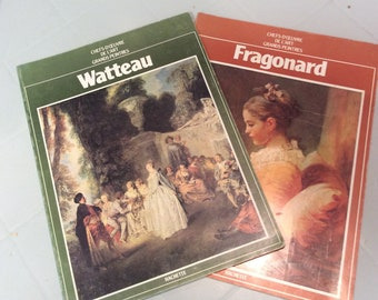 Masterpieces of the great painters- Watteau's and Fragonard