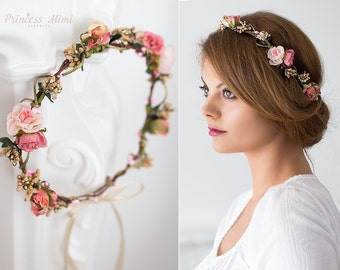 Bridal hair wreath  21e6c891ad2