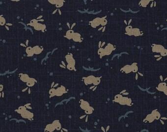 Japanese indigo blue bunnies