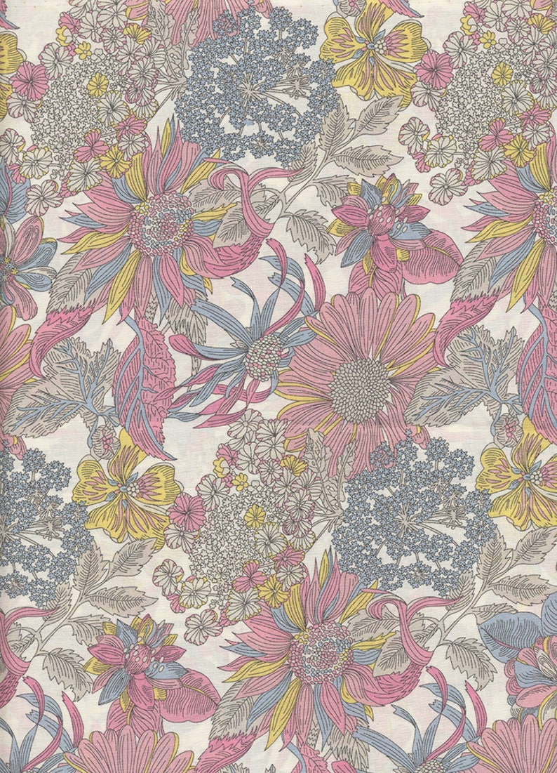 Liberty of London Angelica Garla fabric coupon image 0