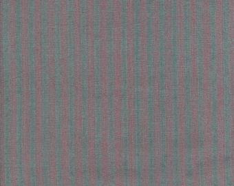 Pink striped grey English fabric
