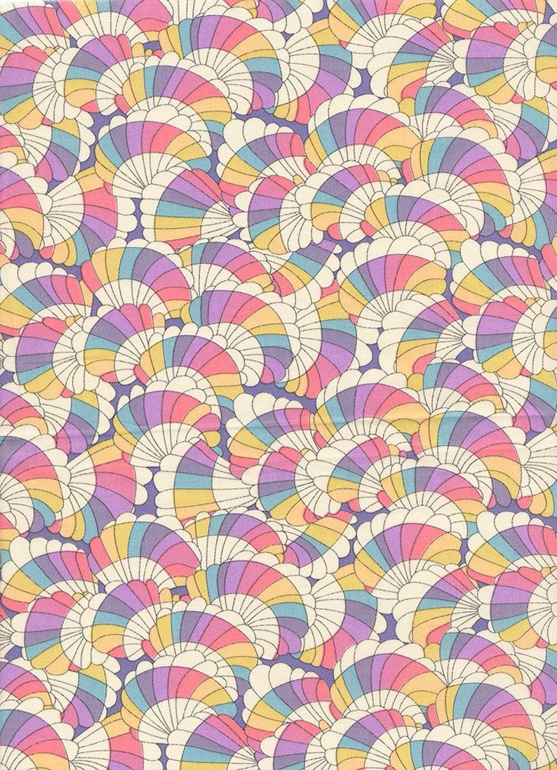 Liberty of London Baby rainbow fabric coupon image 0