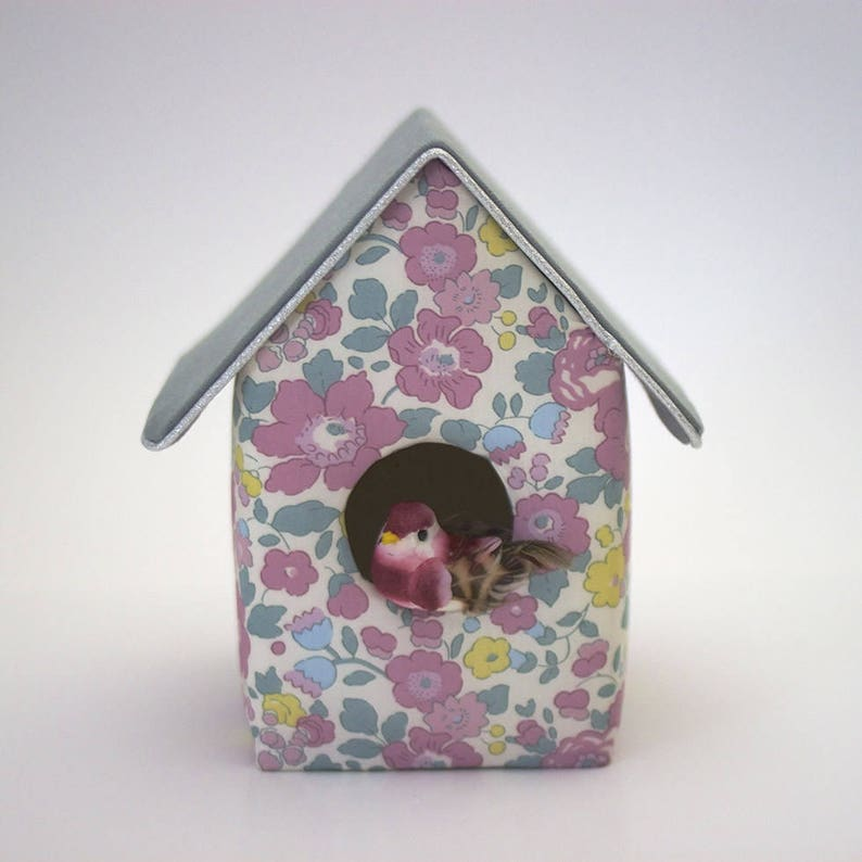 Decorative birdhouse Liberty Betsy frosted image 0
