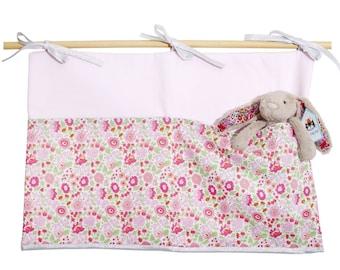 Put blanket pink Poplin and anjo Liberty rose