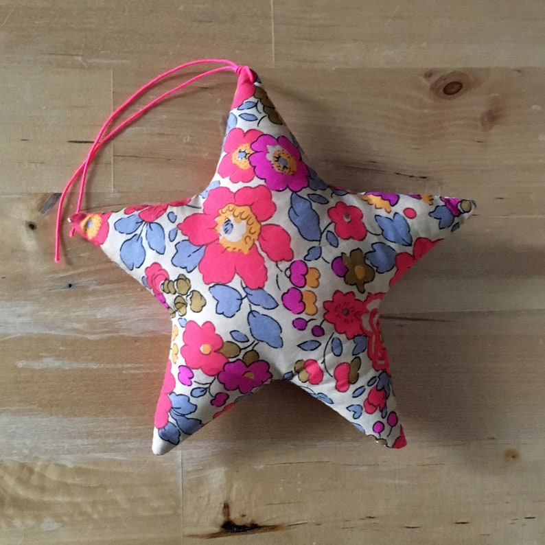 Decorative star in Liberty Fluo Tea image 0
