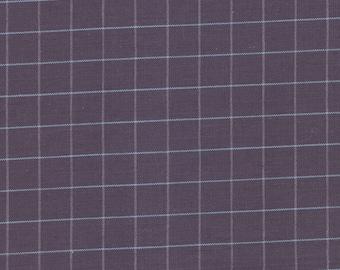France Duval Stalla plaid cotton fabric
