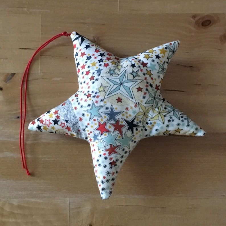 Decorative star in Liberty Adelajda multico image 0
