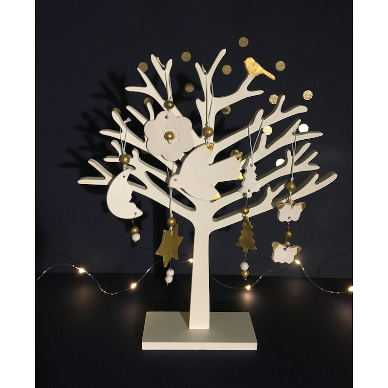 Topics for the Christmas tree decoration-terracotta image 0