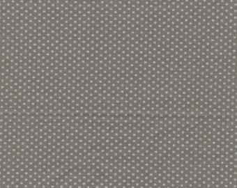 Mole cotton printed with small white stars