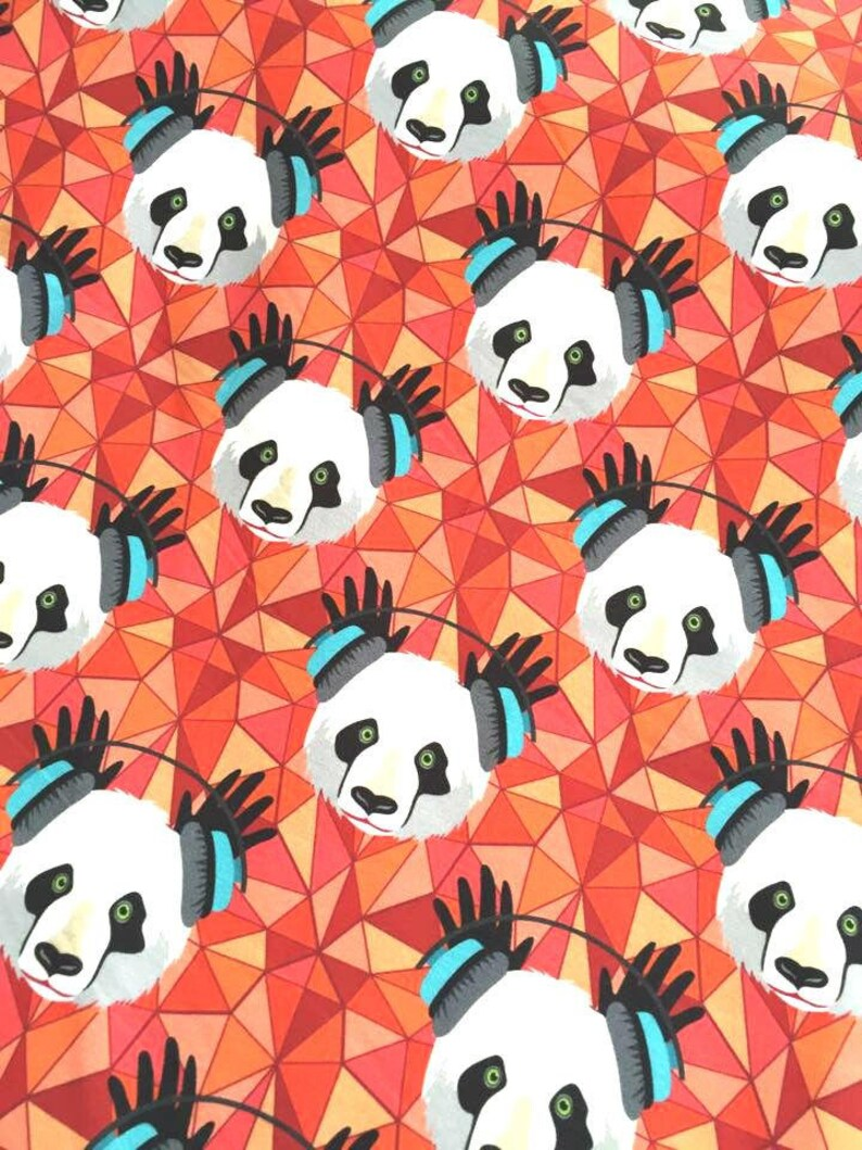 JERSEY Funky Panda HL Red 10 cm image 0