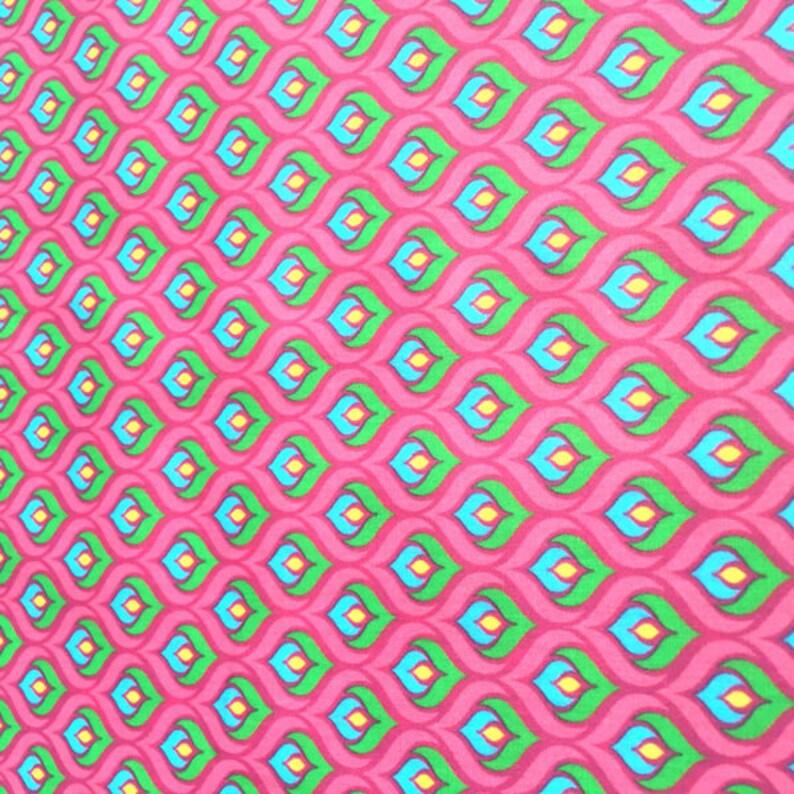 BW PVC-besch. Hilco Hilde Outdoor Pink 10 cm image 0