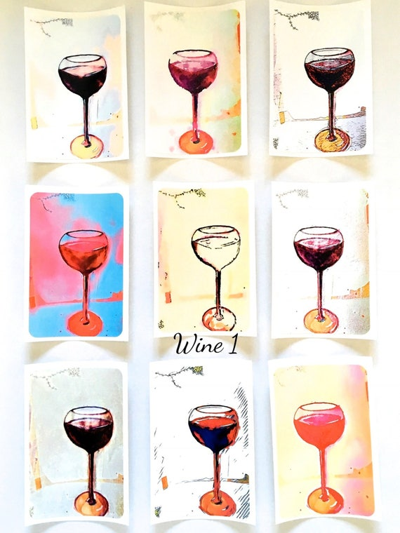 NEW*** Wine Darling? - Large Fine Art Stickers