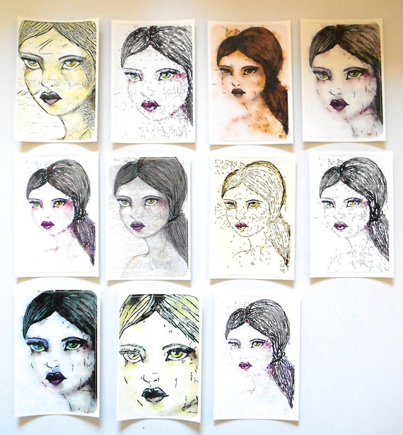 NEW*** Annabel - Large Fine Art Stickers