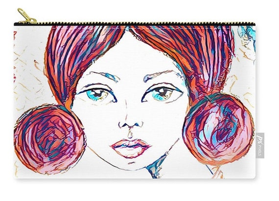 Zippered Pouch - Elise 2
