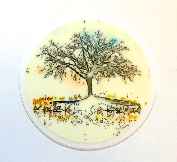 NEW *** Tree of Life Clear Die Cut Sticker