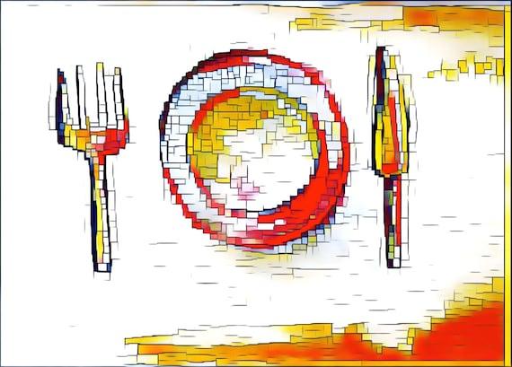 Journal Cards / Tip Ins - Meals / Meal Planning