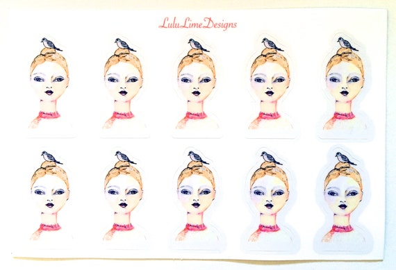 NEW ***  Anastasia - sticker sheet 2