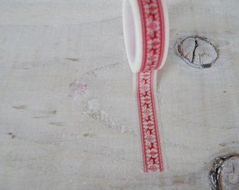 Red and White Reindeer Christmas Washi Tape