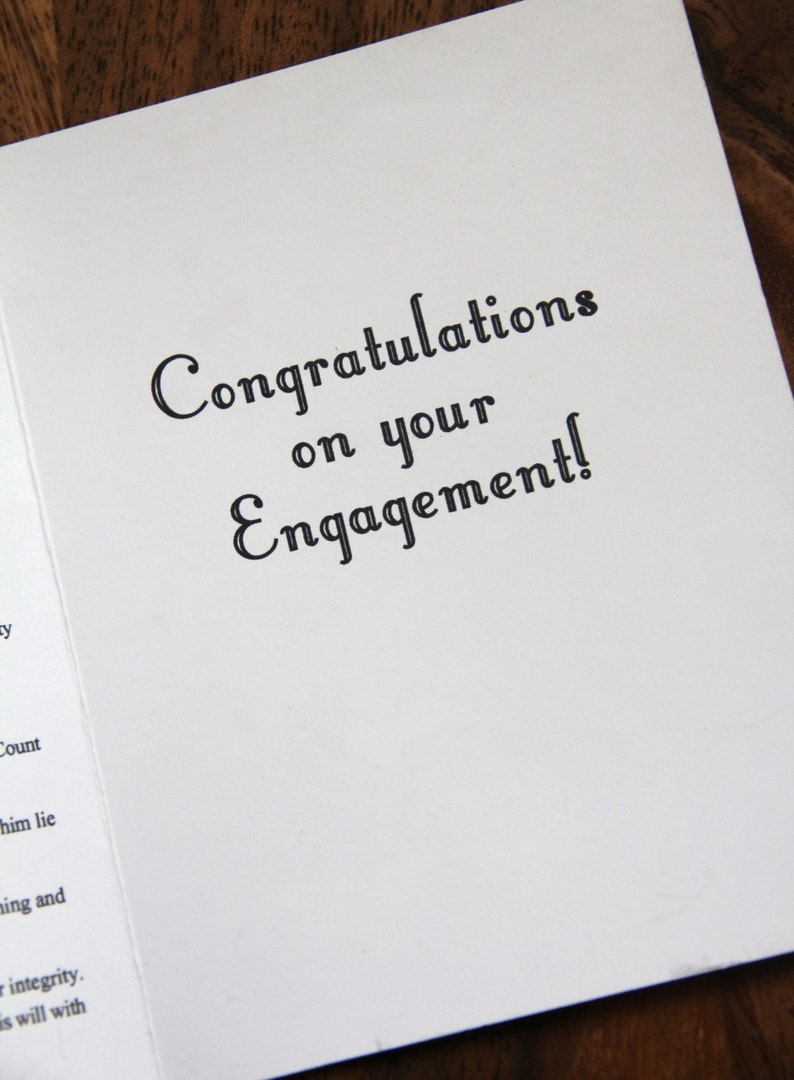 Congrats Getting Married Congratulations Wedding Engagement Anniversary Card Bridal Shower Gift.