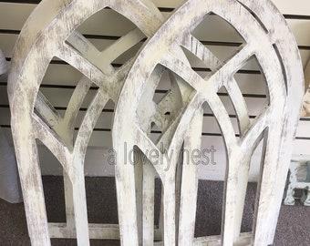 Church window etsy church windows wood window decor wall window distress farmhouse wall decor fixer upper junglespirit Image collections