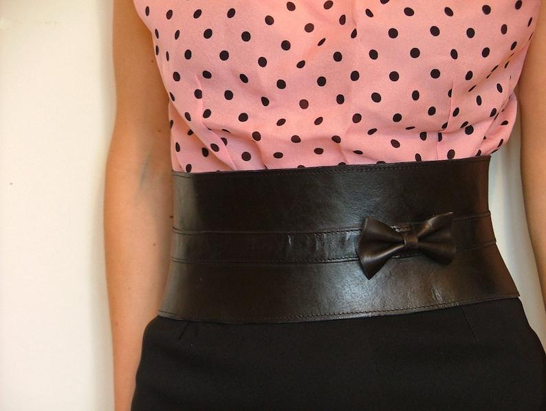 a48684d19ec Leather cincherleather corset beltwaist beltadjustable