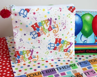 Birthday Gift Card Bags Gift Pouches Fidget Spinner Pouch