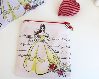 Belle Gift Card Bag Jewelry Pouch Coin Purse