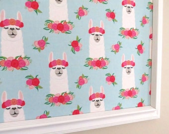 Llamas Wall Decor Bulletin Board Cork Board