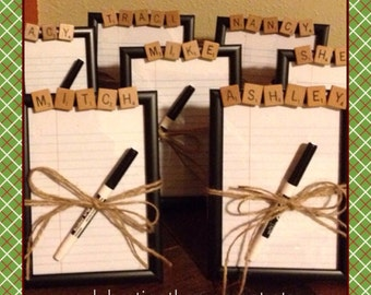 Exceptionnel Employee Gifts, Dry Erase Board, CHOOSE ANY NAME Or Word, Office Party Gift,  Coworker Gift, 5x7, Volunteer Gift