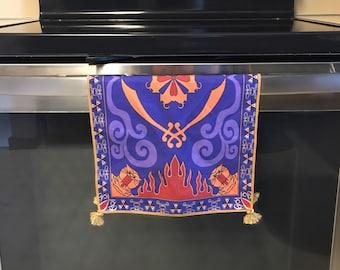 bb5810f15 Tassels Placemat Magic Carpet Dish Towel Hand Towel Face Towel Tea Towel  inspired by Disney Aladdin Halloween Christmas Wedding