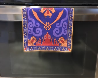 1e9e233c5 Placemat Magic Carpet Dish Towel Hand Towel Face Towel Tea Towel inspired  by Disney Aladdin Halloween Christmas Wedding