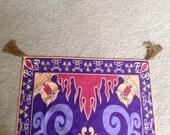 Tassels Included MagicPrincessWhitney Magic Carpet Towel costume inspired by Disney Aladdin Halloween Costume Christmas