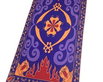 MagicPrincessWhitney Magic Carpet Towel costume Inspired by Disney Aladdin Halloween Costume Christmas