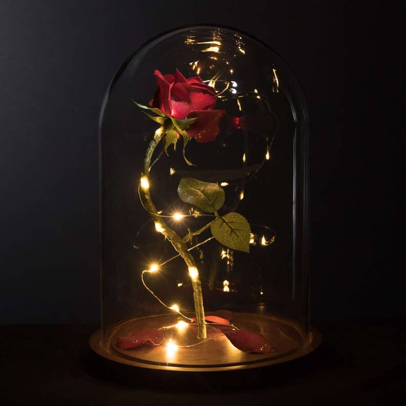 0a6260020 Enchanted Rose Life-Sized from Beauty and the Beast | Etsy
