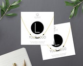 Custom Logo Morse Code Necklace, Corporate Gifts, Client Gifts, Company Gifts, Promotional Items, Marketing Gifts, Employee Appreciation