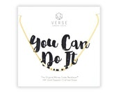 You Can Do It, Encouragement Gift, New Job, Motivational, Inspirational Quotes, New Mom, Graduation, Promotion, Daughter, Best Friend Gifts