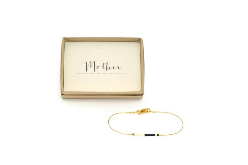 MOTHER Morse Code Bracelet Mother Of The Bride Gift Mom