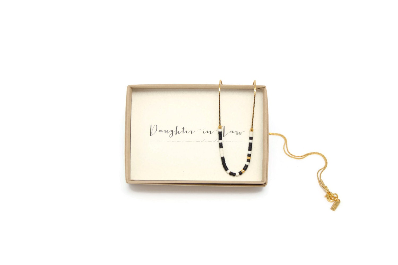 TOCHTER IN RECHT Morse-Halskette Tochter In Recht | Etsy