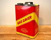 "Vintage ""Gas Saver"" Gas Can Piggy Bank"