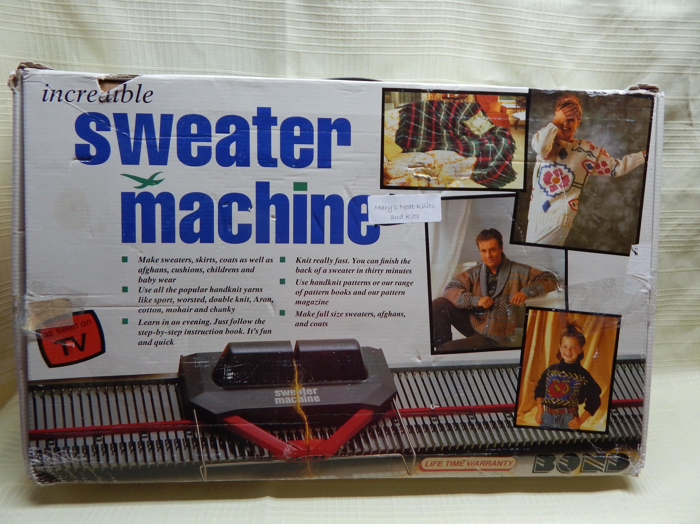 FUN! Incredible Sweater Machine (USED) by Bond-Knitting Machine ...