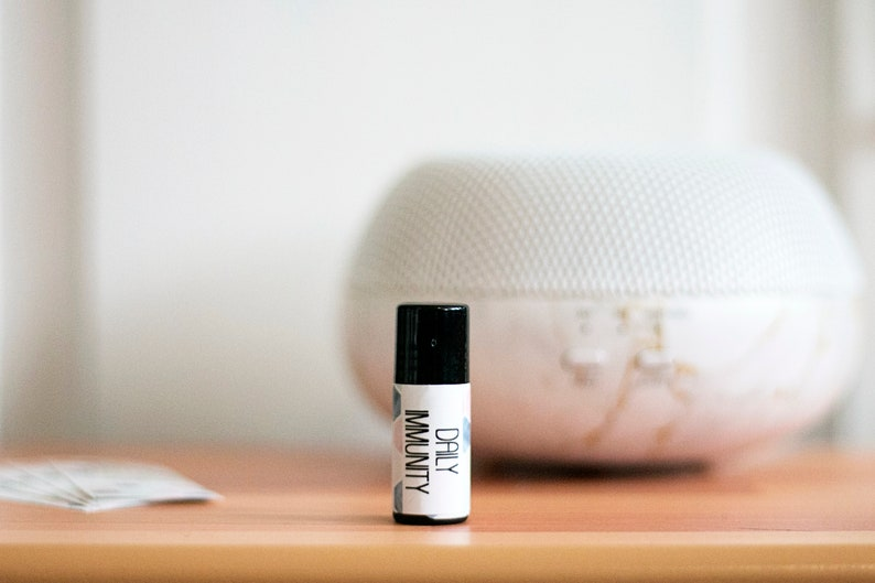 Daily Immunity roller bottle label doterra essential oils make n take
